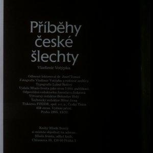 antikvární kniha Příběhy české šlechty, 1995