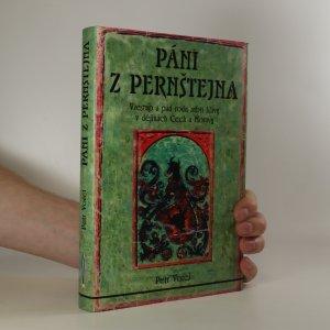 náhled knihy - Páni z Pernštejna