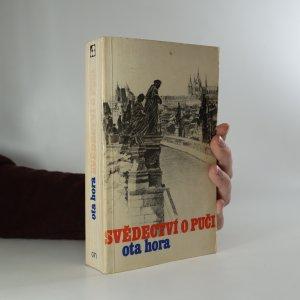 náhled knihy - Svědectví o puči. Z bojů proti komunizaci Československa