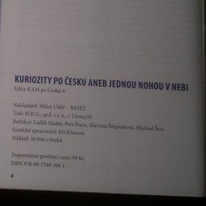 antikvární kniha Kuriozity po Česku aneb Jednou nohou v nebi, neuveden