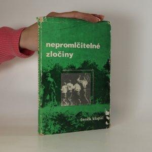 náhled knihy - Nepromlčitelné zločiny