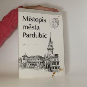 náhled knihy - Místopis města Pardubic