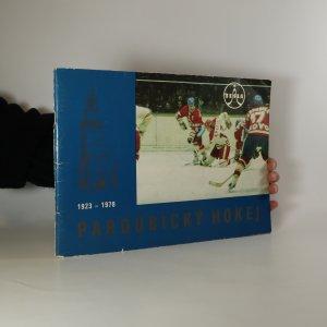 náhled knihy - Pardubický hokej 1923 - 1978
