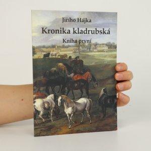 náhled knihy - Kronika kladrubská. Kniha první