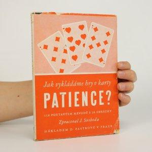 náhled knihy - Patience. 116 návodů k zajímavým hrám s kartami