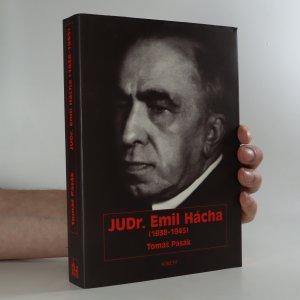 náhled knihy - JUDr. Emil Hácha (1938-1945)