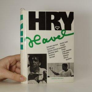 náhled knihy - Hry. Soubor her z let 1963 - 1988.