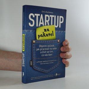 náhled knihy - Startup za pakatel