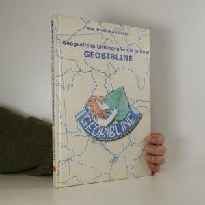 náhled knihy - Geografická bibliografie ČR on-line: GEOBIBLINE