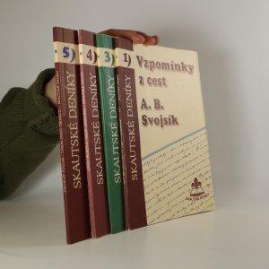 náhled knihy - Skautské deníky (1. - 5. díl, chybí 2. díl, 4 svazky)