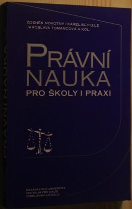 náhled knihy - Právní nauka pro školy i praxi