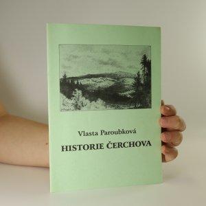 náhled knihy - Historie Čerchova
