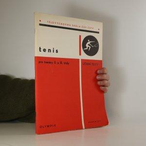 náhled knihy - Tenis pro trenéry II. a III. třídy