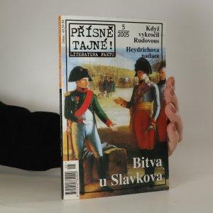 náhled knihy - Přísně tajné! Bitva u Slavkova (5/2005)