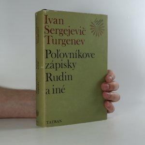 náhled knihy - Polovníkové zápisky Rudin a iné