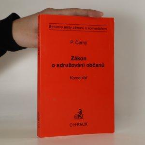 náhled knihy - Zákon o sdružování občanů. Komentář