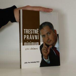 náhled knihy - Trestně právní minimum pro občany