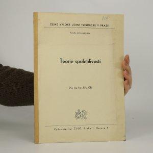 náhled knihy - Teorie spolehlivosti