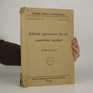 náhled knihy - Základy operátorové theorie samočinné regulace