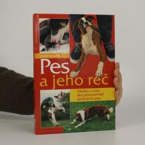 náhled knihy - Pes a jeho reč