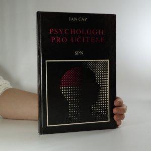 náhled knihy - Psychologie pro učitele (podpis a věnování autora)