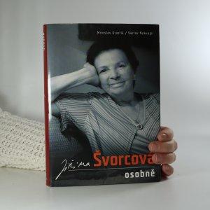 náhled knihy - Jiřina Švorcová osobně. Zpověď Ženy za pultem