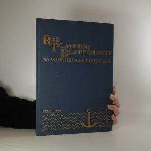 náhled knihy - Řád plavební bezpečnosti na vodních cestách ČSFR. část I.