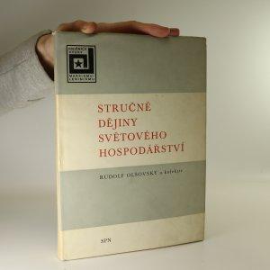 náhled knihy - Stručné dějiny světového hospodářství