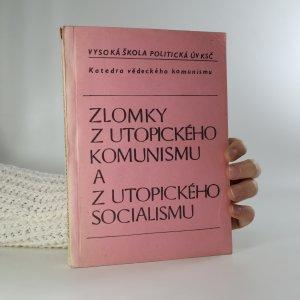 náhled knihy - Zlomky z utopického komunismu a z utopického socialismu