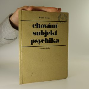 náhled knihy - Chování. Subjekt. Psychika