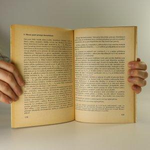 antikvární kniha Problém pravděpodobnosti a determinismus, 1967