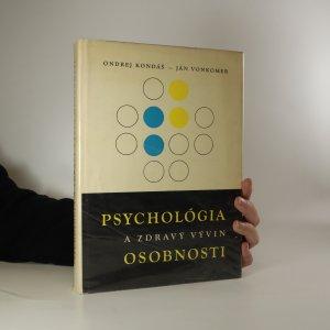 náhled knihy - Psychológia a zdravý vývin osobnosti