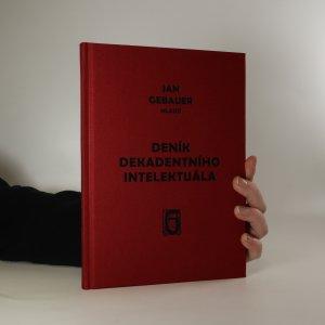 náhled knihy - Deník dekadentního intelektuála