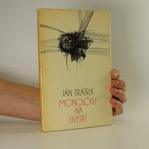 náhled knihy - Monológy na úvetrí