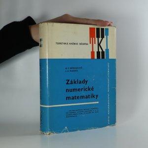 náhled knihy - Základy numerické matematiky (podpis ?)