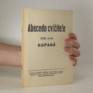 náhled knihy - Abeceda cvičitele. XIX. část. Kopaná