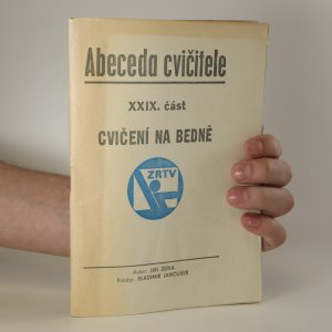 náhled knihy - Abeceda cvičitele. XXIX. část. Cvičení na bedně