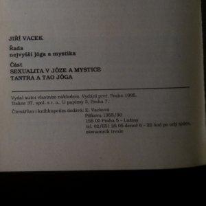 antikvární kniha Sexualita v józe a mystice. Tantra a tao jóga. Řada. Nejvyšší jóga a mystika, 1995