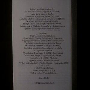 antikvární kniha Smích ve tmě, 1993