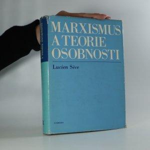 náhled knihy - Marxismus a teorie osobnosti