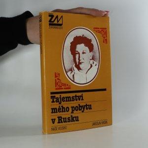 náhled knihy - Tajemství mého pobytu v Rusku