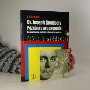náhled knihy - Dr. Joseph Goebbels. Poznání a propaganda. Komentovaný překlad vybraných projevů