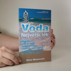náhled knihy - Voda - největší lék