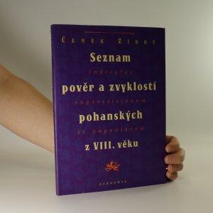 náhled knihy - Seznam pověr a zvyklostí pohanských z VIII. věku