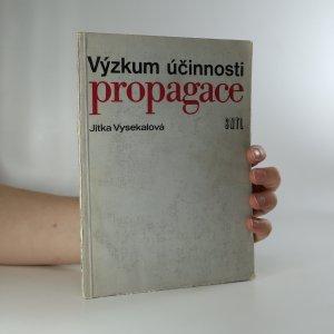 náhled knihy - Výzkum účinnosti propagace