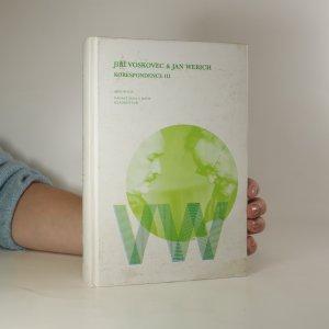 náhled knihy - Korespondence III. Jiří Voskovec a Jan Werich