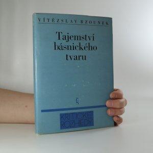 náhled knihy - Tajemství básnického tvaru