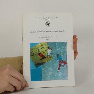 náhled knihy - Základy lezení na umělé stěně