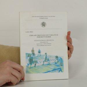 náhled knihy - Základy provozování vybraných pohybových her