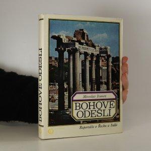 náhled knihy - Bohové odešli. Reportáže o Řecku a Itálii (je cítit lepidlem)